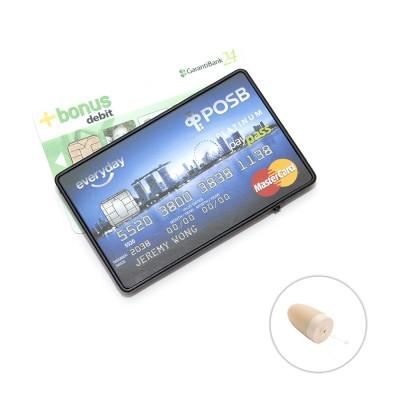 Card GSM pentru copiat cu cartela SIM + micro casca de copiat fara fir